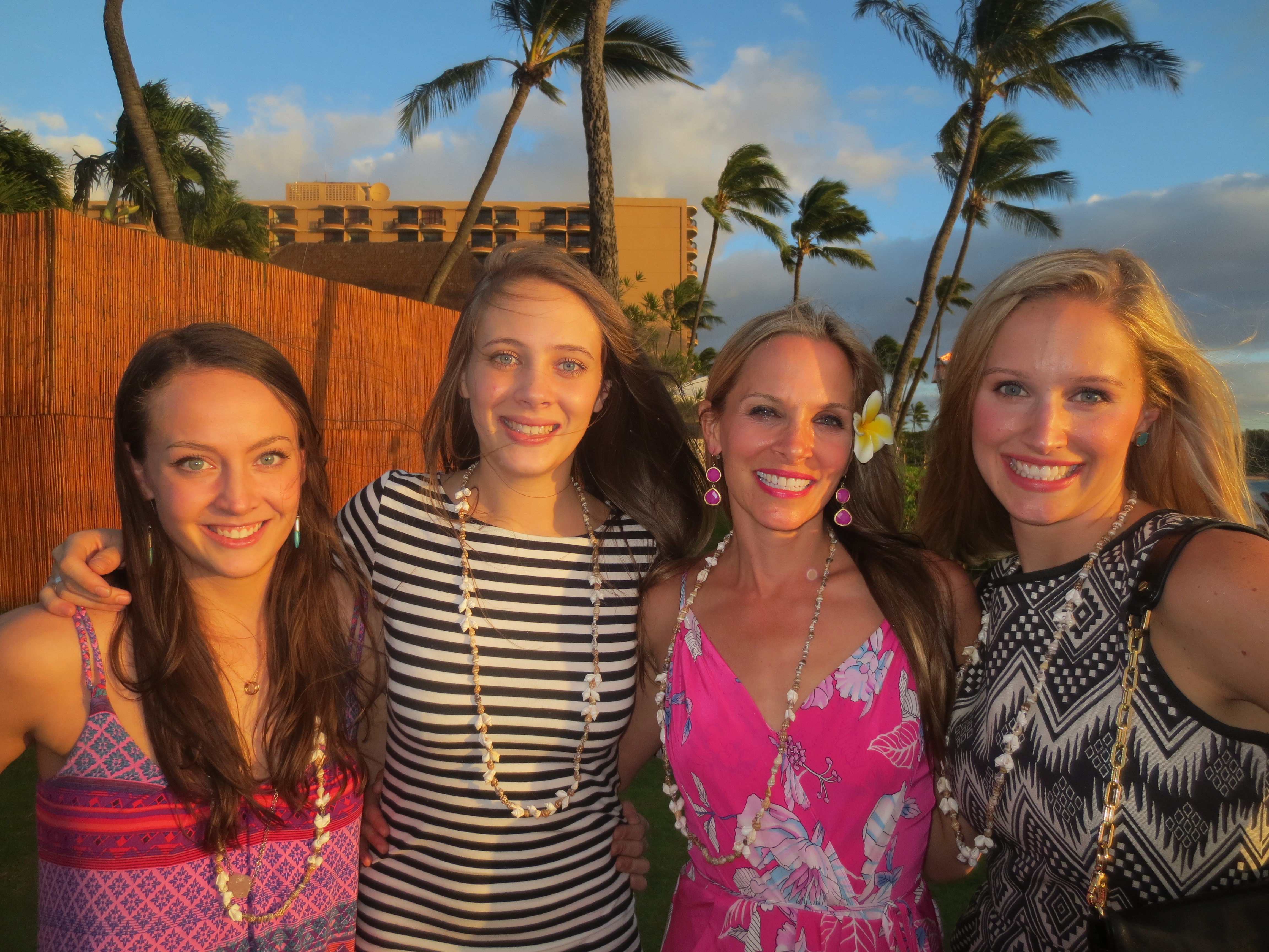Cousin love at the Luau