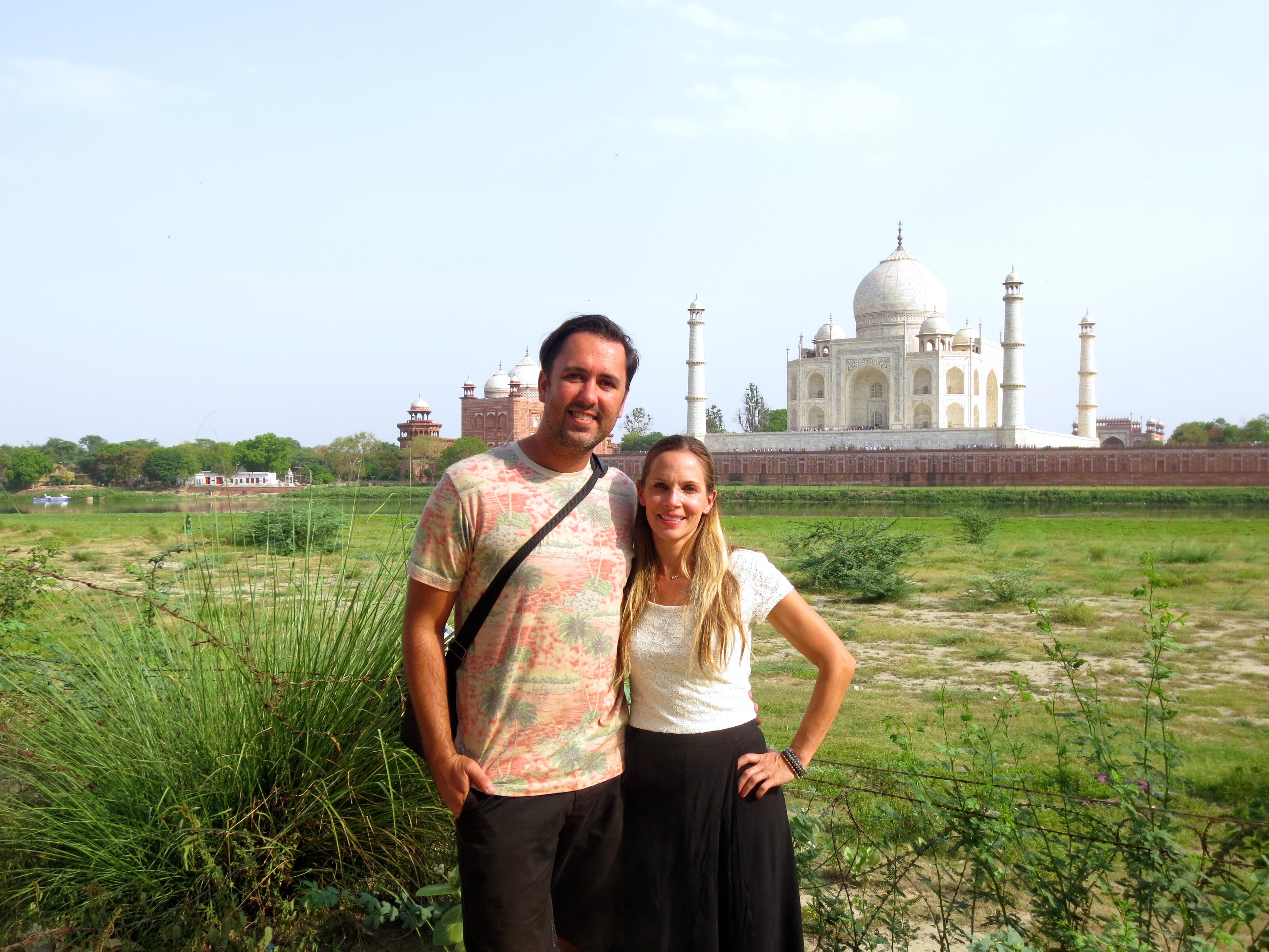 Taj Mahal Birds Eye View